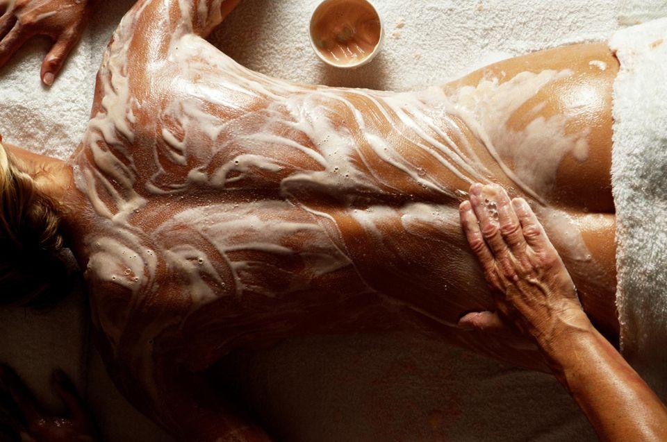 Testradírozás Body scrub
